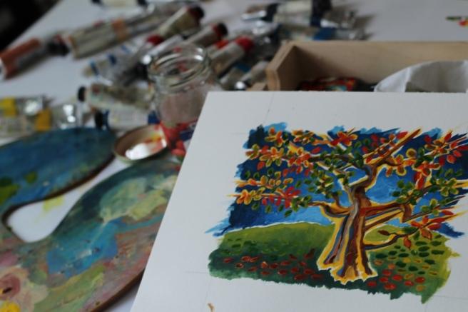 MyStudio_with_Tree_for_TwitterArtExhibit_2014