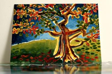 RadkaZKing_TreeFromBotanics_OilOnPaper_2014