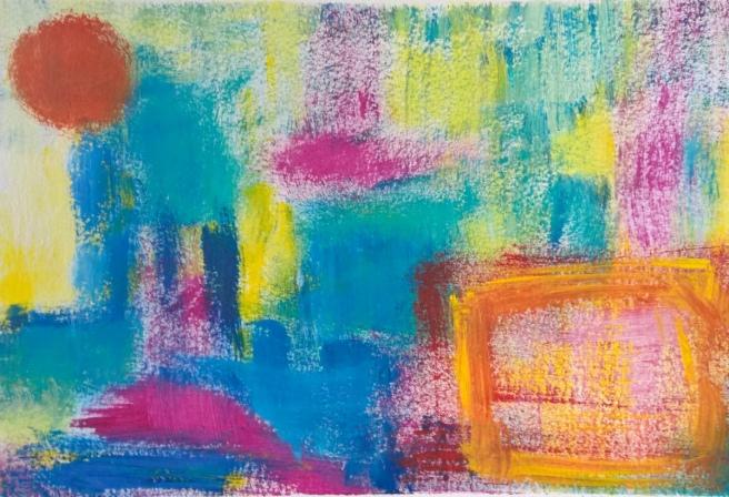 Abstract_Acrylicpaint_drybrush_RadkaZKing