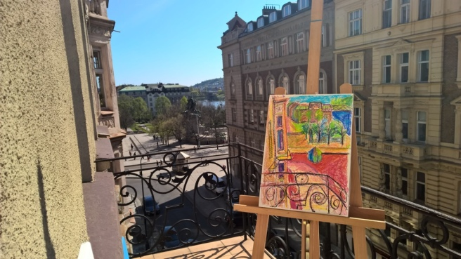 RoomWithAView_PaintingSession_RadkaZimovaKing_2016