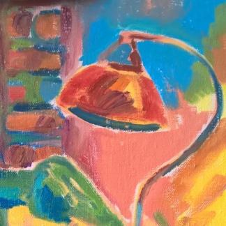 WineTasting_BarLocal_OilPaintingSeries_Detail_RadkaZimovaKing2016