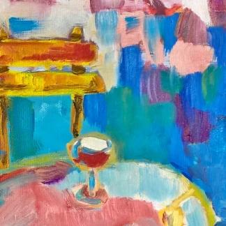 WineTasting_NaBrehuRhonyCafe_OilPaintingSeries_Detail_RadkaZimovaKing2016